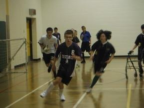 Adaptive Soccer game Mustangs vs. Pirates