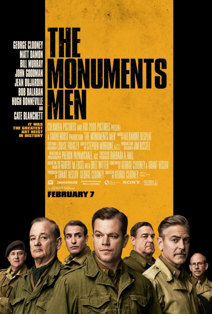 The Monuments Men, a BHS Movie Review