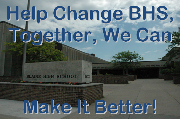 POLL: What Do You Want Changed Or Added To Blaine High School?