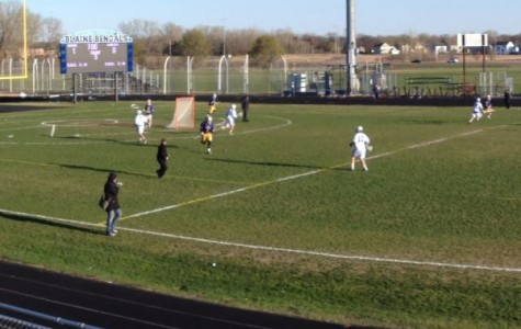 Hickes hat-trick carries Bengals over Totino Grace