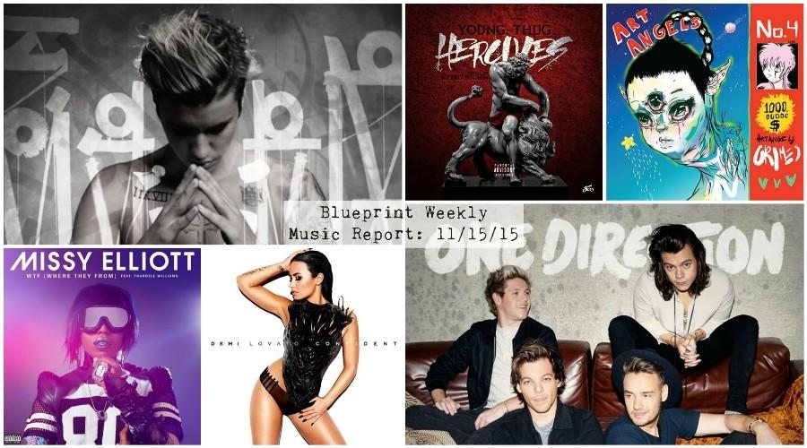 Blueprint+Weekly+Music+Report%3A+Bieber+Shines%2C+One+Direction+Pleases+and+Grimes+Excels