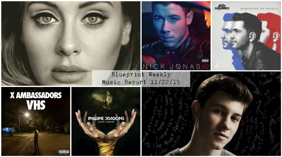 Blueprint+Weekly+Music+Report%3A+Adele+Lives+Up+To+The+Hype%2C+Shawn+Mendes+Shows+Growth+and+Nick+Jonas+Stutters
