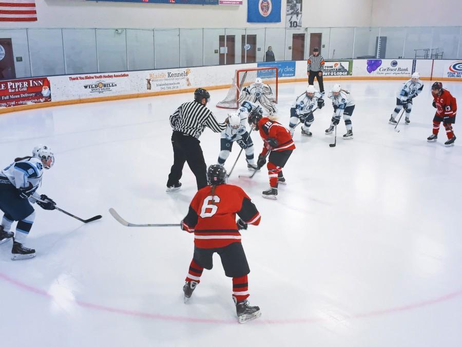Girls Hockey: Blaine Blows out Stillwater 6-0