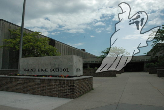 Possible ghost sighting at Blaine