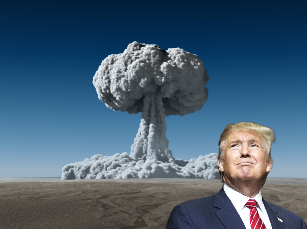 Artist's interpretation of a Trump US