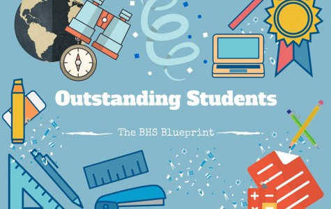 The BHS Blueprint's Outstanding Students
