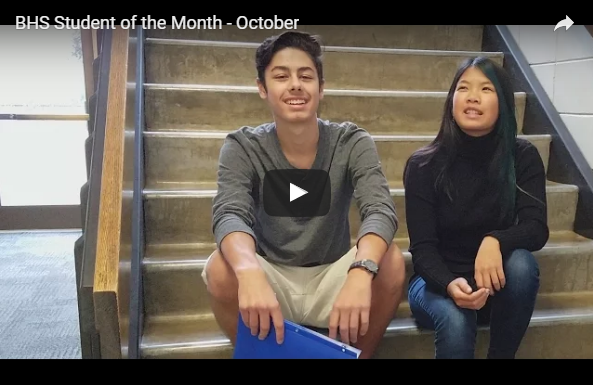 Student of Month interview [Video]