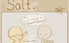 Clairety Comics: Salt.
