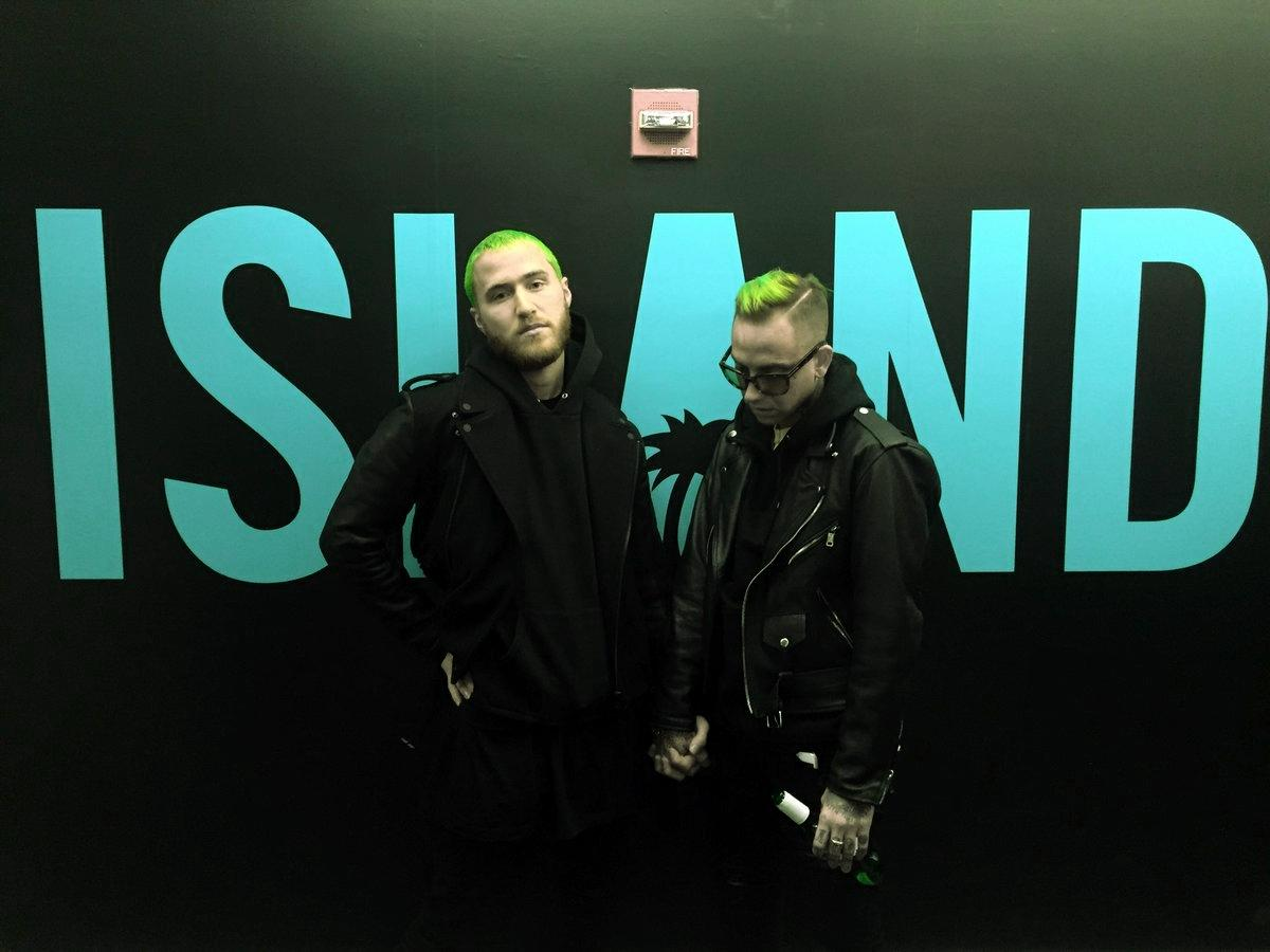 Mike Posner (Left), Blackbear (Right) Courtesy of www.mikeposnerhits.com