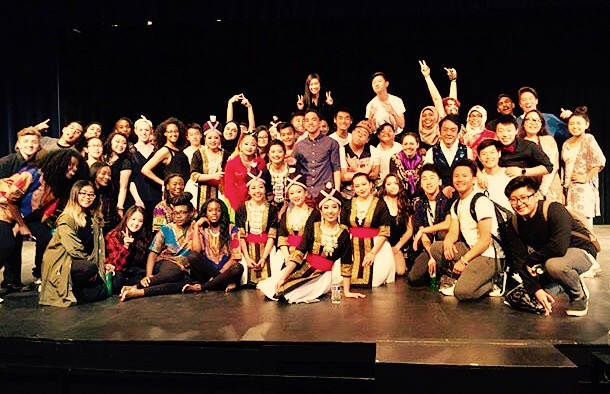 The previous year's multicultural show performers. (Photo Courtesy of Heba Ghalban.)