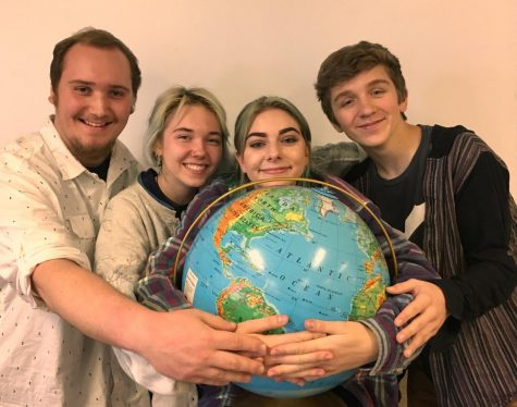 How one club aims to change the world beginning with blaine high several members of the environmental club pictured from left to right alex ochu sophia kassels cami thorstenson and nicholas carlstrom photo taken by malvernweather Image collections