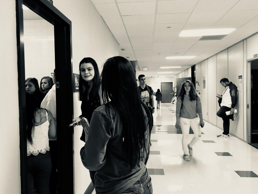 Everyday Sexism: Lines at the Girls' Bathrooms