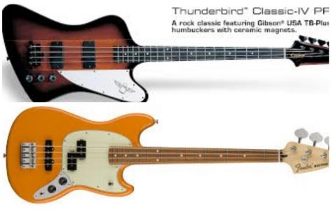 Epiphone Thunderbird Classic-IV Pro VS. The Fender Mustang PJ Bass