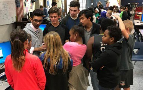ACES visits Blaine High School