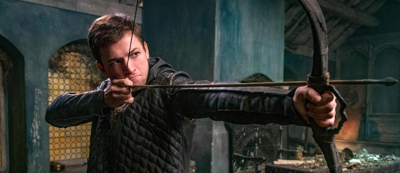 Taron Egerton stars as Robin of Loxley.