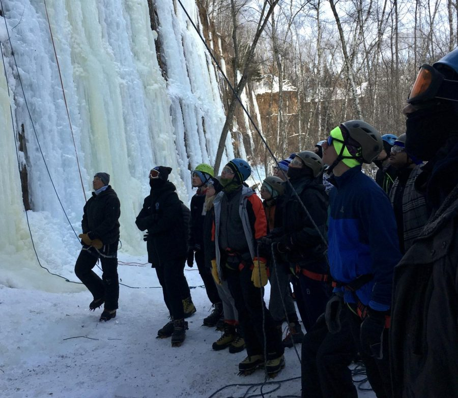 I survived Winter ODA: Ice Climbing