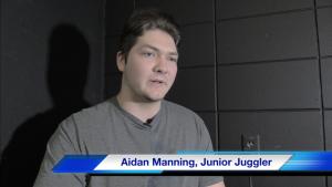 Student Juggler: Aidan Manning