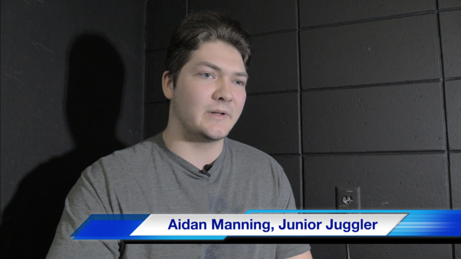 Aidan Manning, Blaine High School Student Juggler