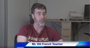 Teacher of the Week: Mr. Vitt 2/19/20 – 2/26/20
