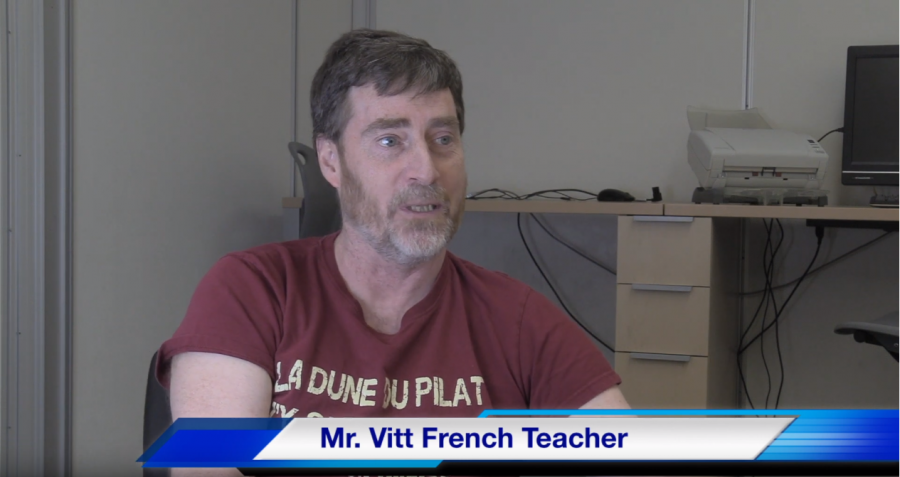 Mr. Vitt Teacher of the Week!
