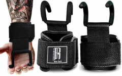 J-Hook lifting straps and how they might allow u to pull more weight